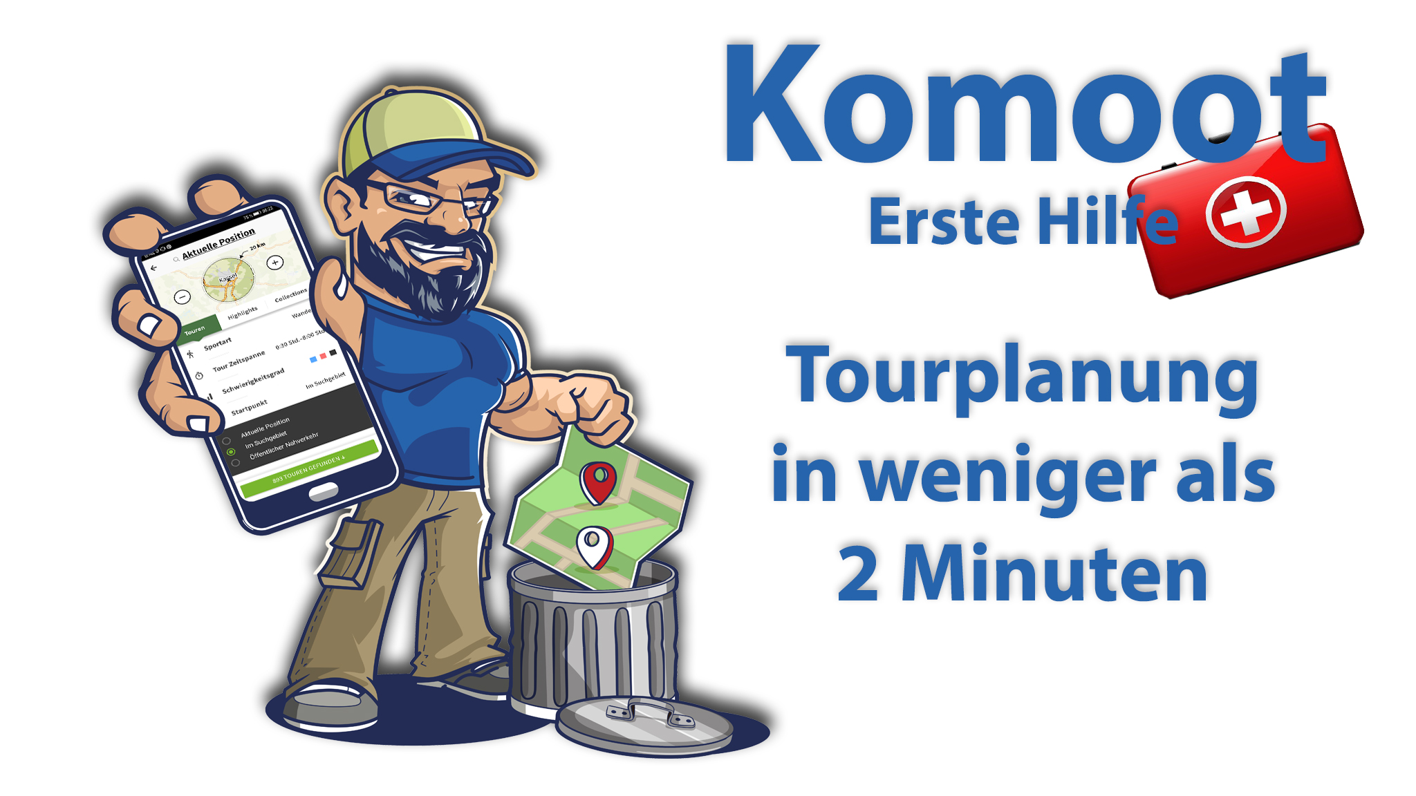 Tourplanung in 2 Minuten